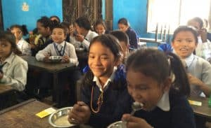 Tiffin Programme - Chance for Nepal