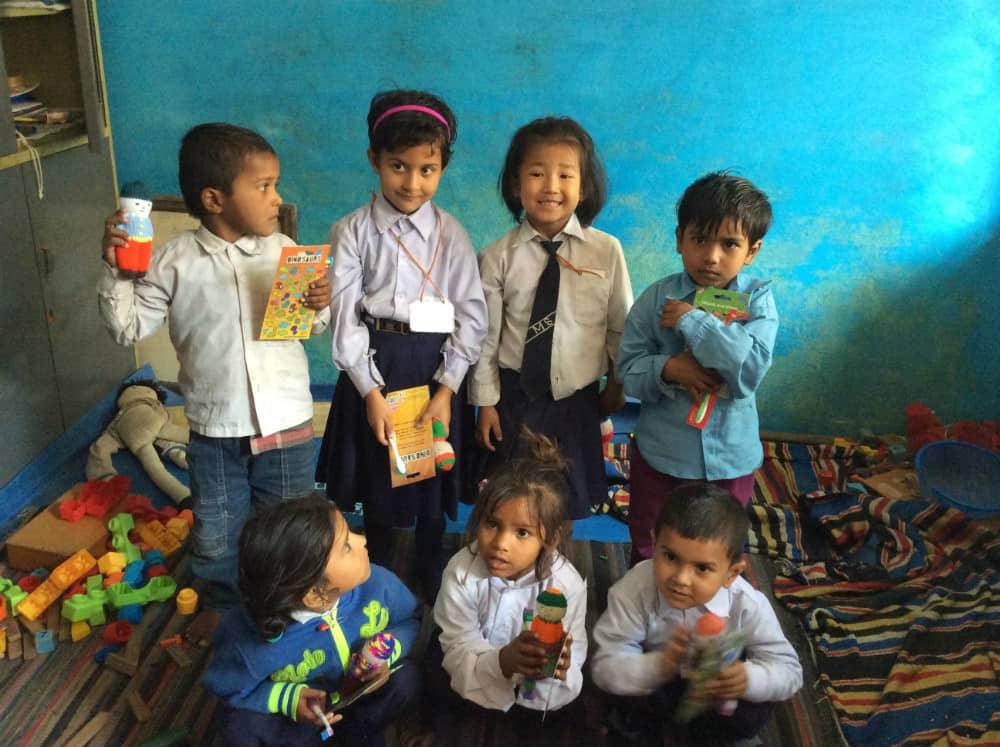 Classroom at Mitra - Knittd Dolls