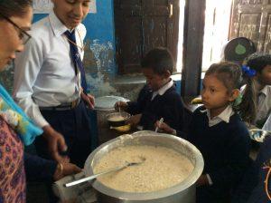Mitra Aadharbhut Vidhalaya School - Meal