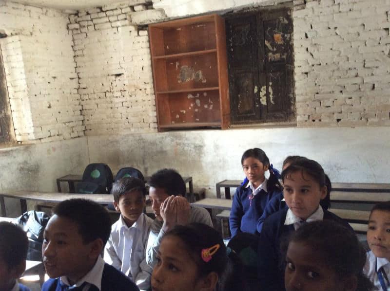 Classroom at Mitra