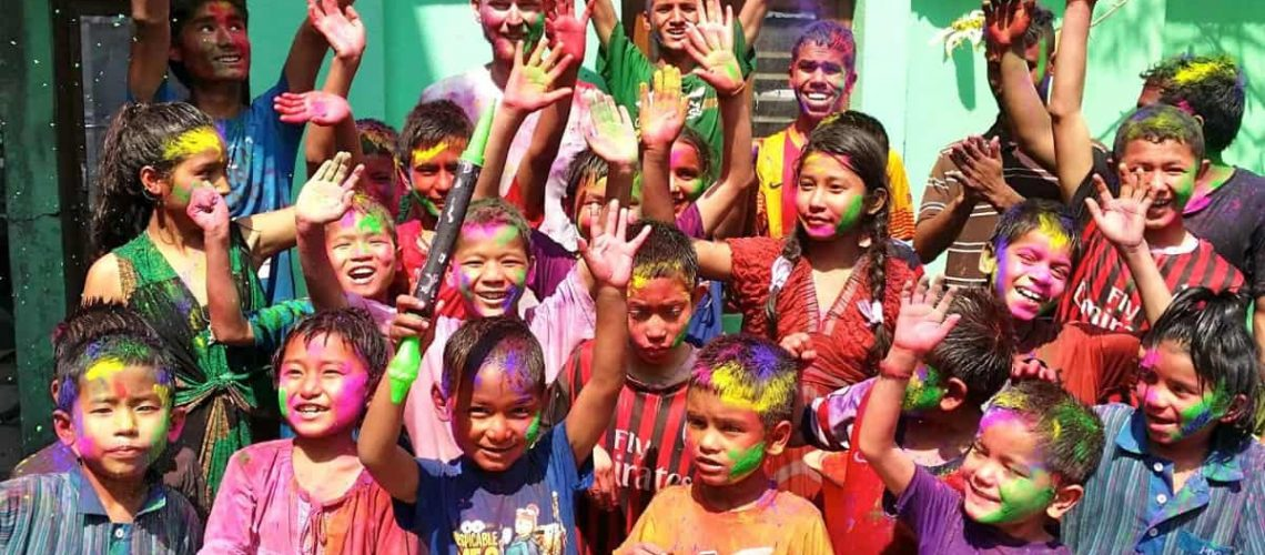 Chance for Nepal - PAPA'S HOLI FESTIVAL