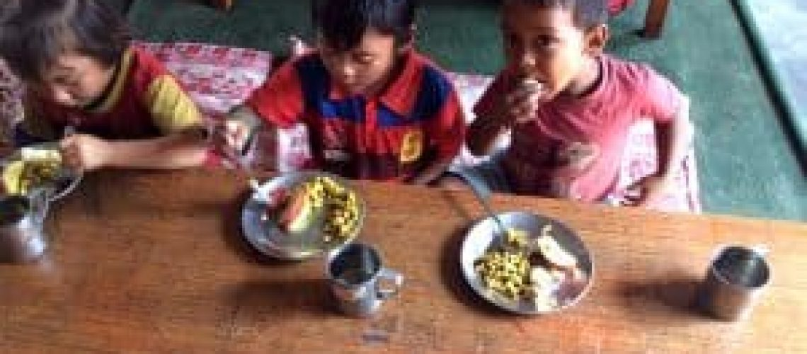 TIFFIN-MEAL-PROGRAMME-at-SHREE-SECONDARY-SCHOOL-Chitwan-300x224